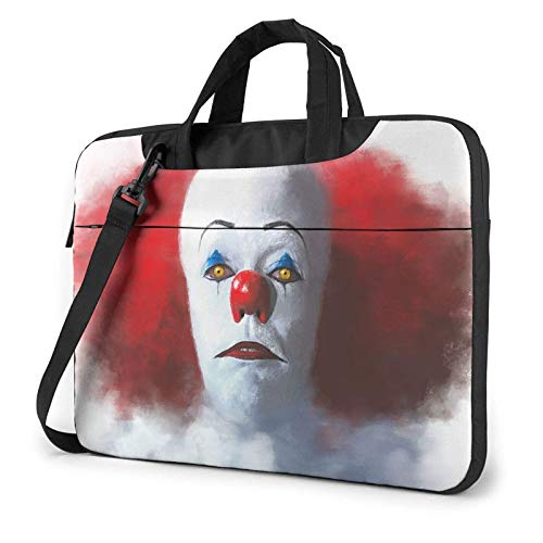 shenguang Pennywise It Laptop Shoulder Messenger Bag Case Sleeve for (13 Inch 14 Inch 15.6 Inch) Durable and Lightweight Portable Laptop or Ipad Tablet Case Laptop Briefcase 13 inch
