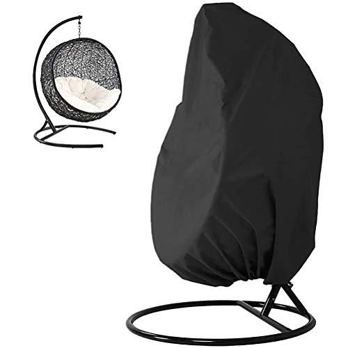 LeeBoom Outdoor-Schaukel Eggshell Stuhl Staubschutz 210D Garten Hängen Egg Chair Sitzabdeckung wasserdichte Outdoor-Möbel Staubschutz Staubschutz