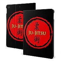 Jiu Jitsu Japanese Flag 柔術 iPad 10.2 ケース 第7世代 2019モデル専用 高級PUレザー スタンド オートスリープ機能 三つ折り 全面保護 スタンド スマートケース カバー 手帳型 薄型 耐久性 かわいい