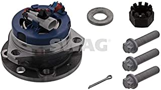 SWAG Wheel Bearing Kit Front Axle Fits OPEL Astra Zafira MPV VAUXHALL 9117620