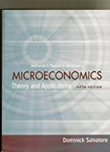 Microeconomics theory and applications fifth edition dominick salvatore by dominick salvatore (2009-01-01) Paperback