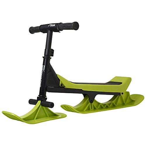 Stiga Snowrider Black/Limegreen, Sled Unisex Infantil, Lime Green/Black, One Size