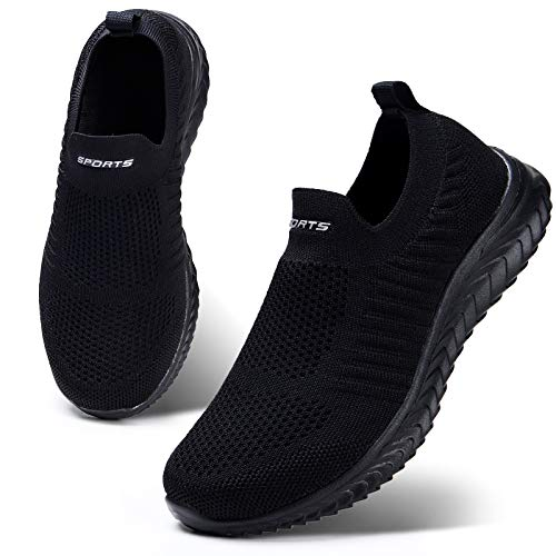 HKR Womens Trainers Slip On Walking Shoes Athletic Running Shoes Casual...