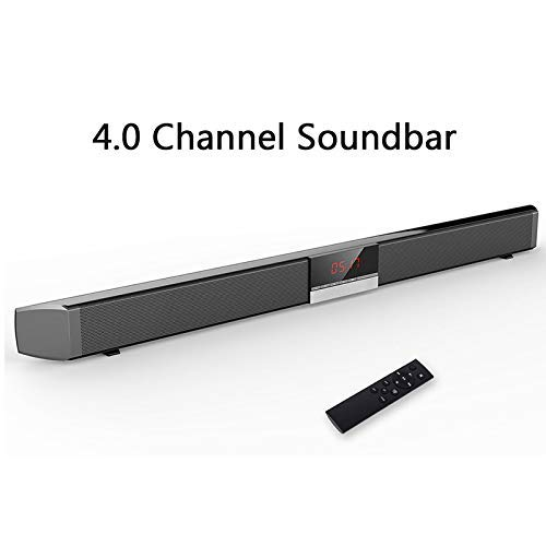 Wireless Bluetooth Desktop luidsprekers Soundbar TV home theater met Subwoofer Remote Control System 40W draadloze Bluetooth Speaker met kabel voor PC