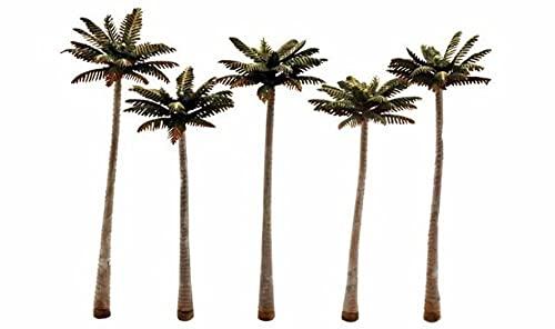 Woodland Scenics Classics Tree, Palm 4.75-5.25'(5)
