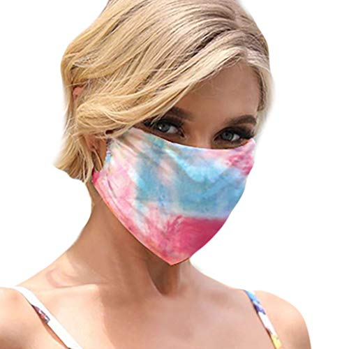 Fantastic Prices! JIUDASG Unisex Printing Breathable Face Bandanas Washable Reusable Dust Windproof ...