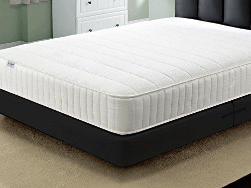 Jumpi Cool Blue Lines Bonnell spring memory foam 6' mattress 3ft 4ft6 5ft 6ft sizes UK (4FT)