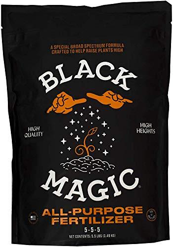 Black Magic 10101-10063 All Purpose Fertilizer, 5.5 lb