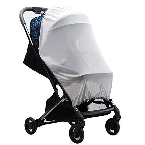HAOBANLV Cubierta de Insectos Cochecito de bebé del Cochecito de niño de Verano Mosquitera Universal Cochecito contra los Rayos UV Duradero Sombra del Carro Cuna Sun