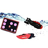 Greatstar Mini Submarine Underwater Toy RC Electric Submarine Toy Inside Water Tank Toy Game Tracking Fish Fun Toy (Sharp Head)
