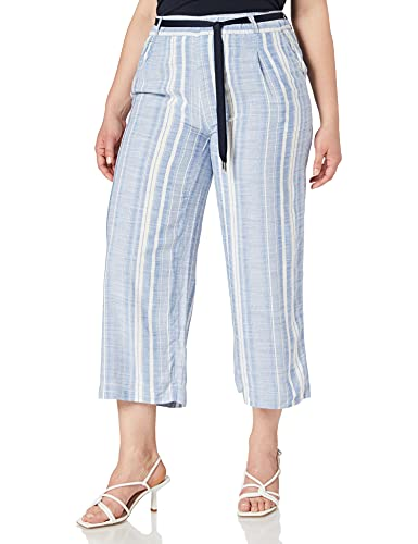 Street One Damen Wide Leg Hose, Dark Sunny Blue, W38/L26