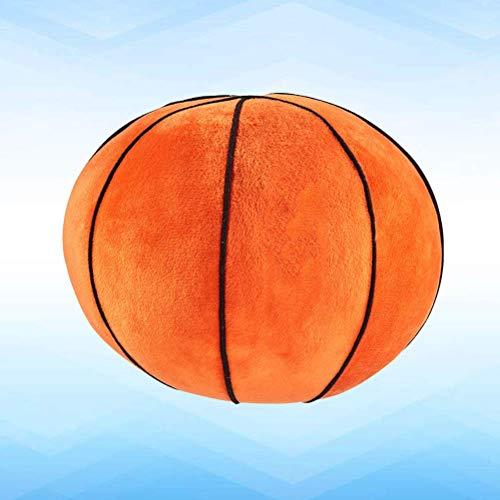 ANNIUP Basketball Plüsch-Spielzeug, Sport-Kissen, flauschig, gefüllter Ball, 22 cm