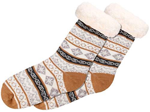 Chaussettes d'hiver antidérapante confortables taille...
