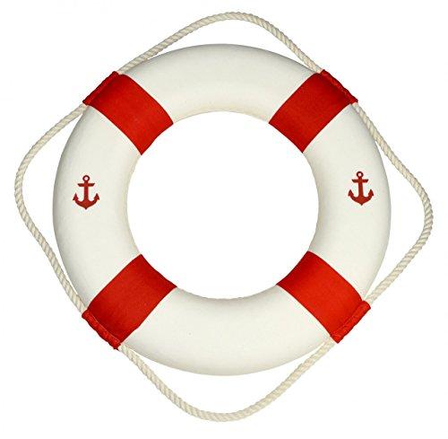 Navyline Deko-Rettungsring mit Anker oder Stern - maritime Dekoration, Ausführung:Anker