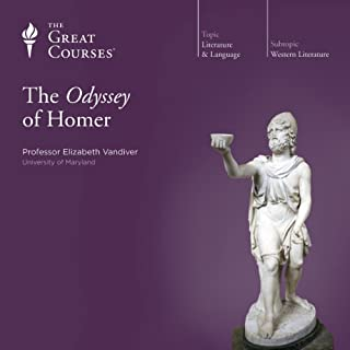 The Odyssey of Homer                   Written by:                                                                                                                                 Elizabeth Vandiver,                                                                                        The Great Courses                               Narrated by:                                                                                                                                 Elizabeth Vandiver                      Length: 6 hrs and 5 mins     17 ratings     Overall 4.8