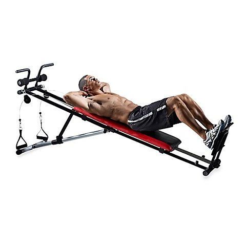 Weider Ultimate Body Works Adjustable Incline Exercise Bench
