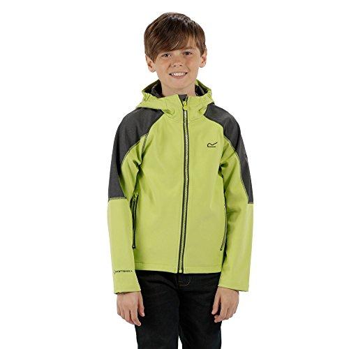 Regatta Boys & Girls Acidity II Light Jersey Softshell Coat Jacket