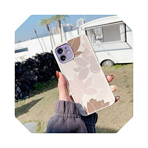Carcasa para iPhone 11 12 Pro X XR XS Max 7 8 Plus se 2020 Shockproof Soft TPU Cover 56-For iPhone 12Pro Max