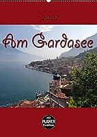 Am Gardasee (Wandkalender 2022 DIN A2 hoch): Impressionen vom Gardasee (Planer, 14 Seiten )