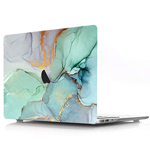 Plastic Hard Shell Case Compatible with MacBook Air 13 inch Case Old Version 2010 2011 2012 2013 2014 2015 2016 2017 Release A1369 A1466 - Marble Wave