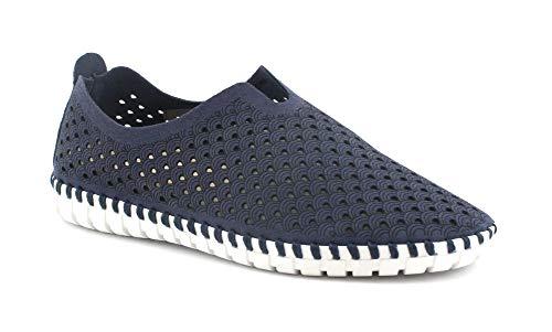 Grunland MAGI SC4416 blau Schuhe Frau Flexibler Slip auf Stoff 38