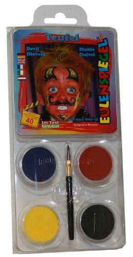 Creative Design-a-Face Lot de Peinture de Visage – Diable