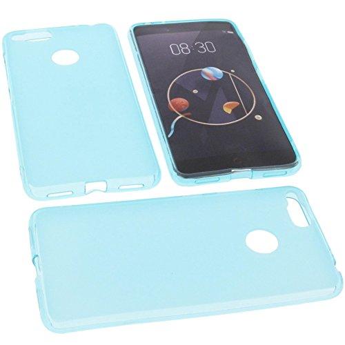 foto-kontor Tasche für Archos Diamond Alpha Gummi TPU Schutz Handytasche blau