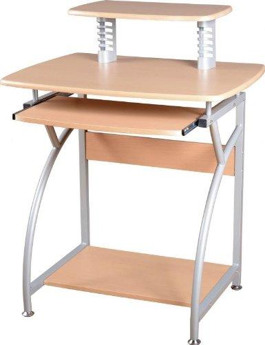 Furniture Group Chico scrivania in naturale/argento
