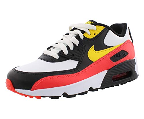 Nike Kids GS Air Max 90 Leather Life Style Sneaker (7)