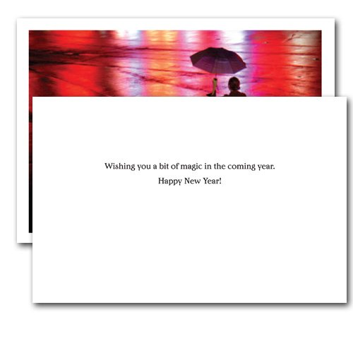 Bit of Magic - New Year Holiday Cards, Box of 10 cards and envelopes Photo #2