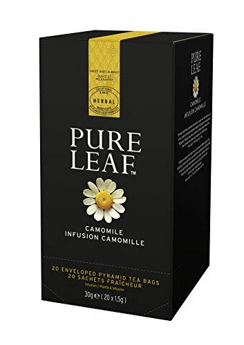 Pure Leaf Infusión premium de Manzanilla - 3 cajas de 20 pirámides (Total 60 pirámides)