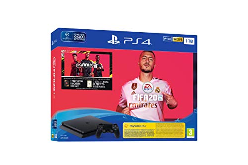 PS4 Black 1TB + FIFA20 - Bundle