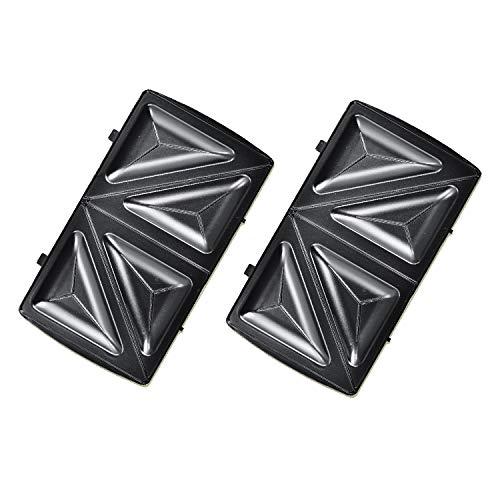 Elektrischer Back-Automat Nussbäcker BAC-3000 Nussmaker Waffeleisen 12er - austauschbare Platten (Sandwich)