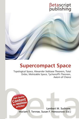 Supercompact Space