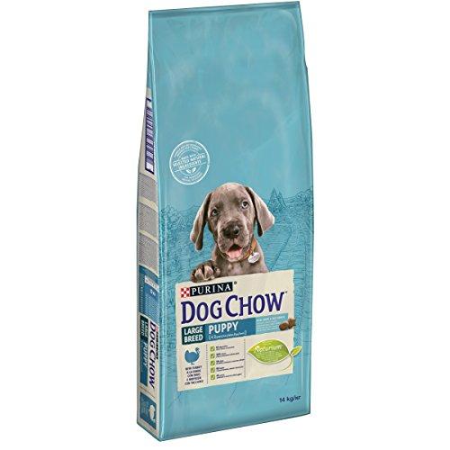 DOG CHOW Perro Puppy Grande Breed - Pienso con Pavo para Cachorro, 14 kg