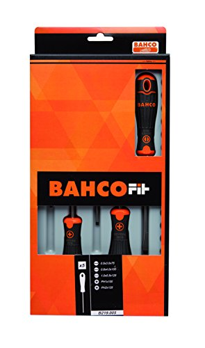 Bahco B219.005 5PCS SCREWDRIVER SET SLOT/PH