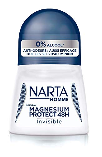 NARTA Magnesium Protect Invisible Déodorant Bille Invisible Homme 50ml