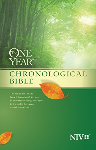 The One Year Chronological Bible NIV