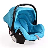 Cangaroo Babyschale Gala, Gruppe 0+ (0-13 kg), Sitzpolster, Fußabdeckung, Farbe:hellblau