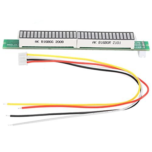 SALUTUY Componentes electrónicos, indicador de Nivel de 32 bits Accesorios del indicador de Nivel Indicador de Nivel de música Fácil de Usar para Accesorios del indicador de Nivel