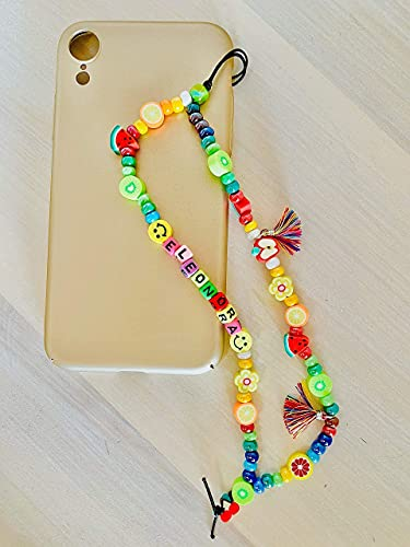 Phone strap perline charm