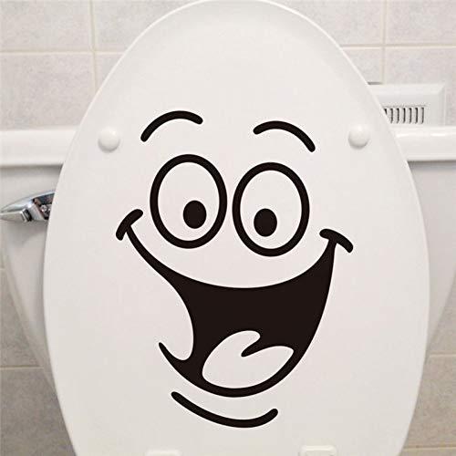 Taoyue Lachen toiletstickers voor het decoreren van meubels, koelkast, wasmachine, stickers voor badkamer, cadeau voor badkamer
