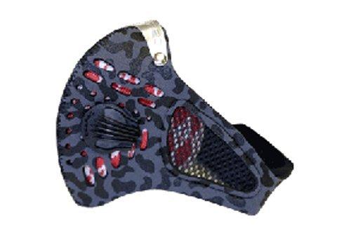 レスプロ RESPRO 大きいパワバルブ装備 メッシュ仕様 スポーツモデル スポーツタマスク グレーカモ M