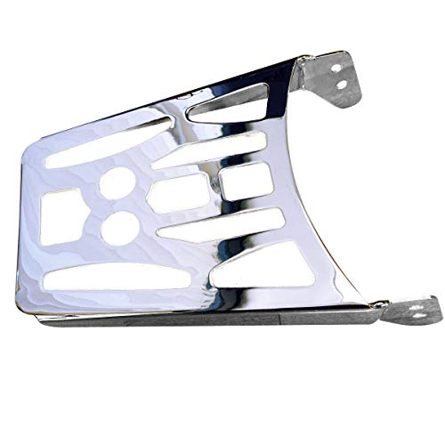 Luggage Rack for Suzuki Boulevard C50 M50 C90 Volusia VL800 Intruder VL1500 (1') - Chrome