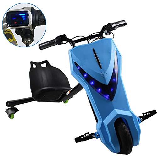 Fly 360 Electric Drift Dreirad Electric Drift Trike Mit LED-Scheinwerfern ABS-Material, Bürstenloser Hoch- Und Niedriggeschwindigkeitsmotor Mit Lithiumbatterie, Kinder Jungen Und Mädchen