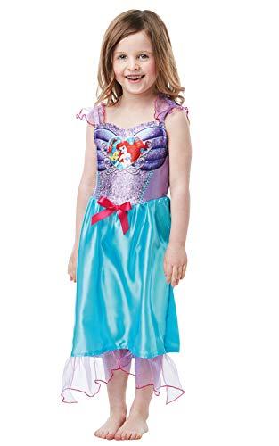 Rubie's officiële Disney Princess Sequin Ariel zeemeermin klassieke kostuum, kinderen peuter grootte leeftijd 2-3 jaar, hoogte 98 cm