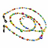 Rare Women Colorful Beads Shell Fashion Eyeglass Chain Sunglass Holder Strap Lanyard Spectacles Sport Neck Rope