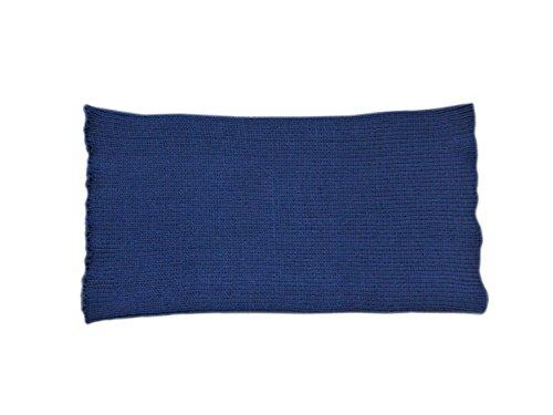 tevirP Unisex Bauchband, 100% Merinowolle, für Bauch, Nierenwärmer, Haramaki, Schwanger, Damen und Herren, gestrickt Gr. 90, dunkelblau