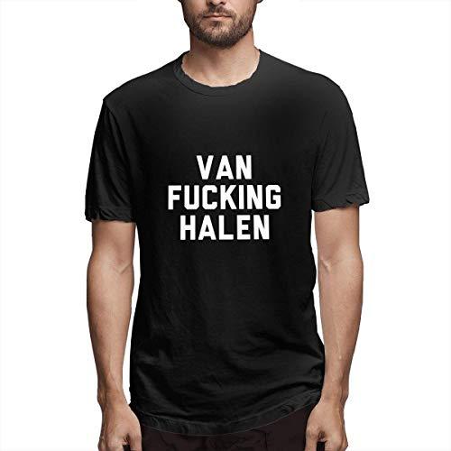 Van Fucking Halen T-Shirt for Men, Black, S to 6XL