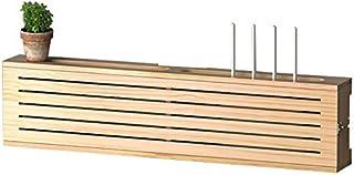JIE KE Multifunción Caja de Almacenamiento de enrutador de Caja de enrutador WiFi inalámbrico WiFi Sólido Punch-Free Rack ...